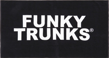 Funky Trunks Towel still black 2020 Handdukar & Badrockar