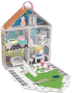 Peppa Gris - Dekorer Peppa's hus lekesett