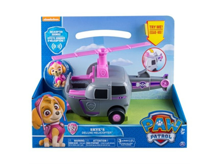 Paw Patrol feature vehicle - Skye's deluxe helikopter
