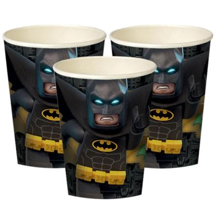 Lego Batman pappbeger 8pk
