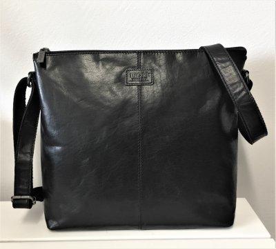 Biori Väska, svart läder
