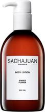 Köp Ginger Flower, Body Lotion 500 ml Sachajuan Kroppslotion fraktfritt
