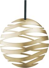 Stelton Tangle Juleornament Ball stor - Messing