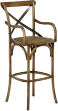 2 st Vintage barstol - ek