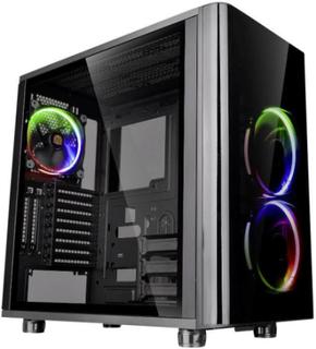 Midi-tower PC-kabinet Thermaltake View 31 TG RGB Sort