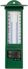 Nature min./maks. udendørstermometer digitalt 9,5 x 2,5 x 24 cm