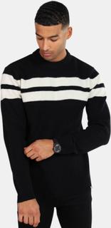 Minimum Borg Jumper Stickad tröja Black