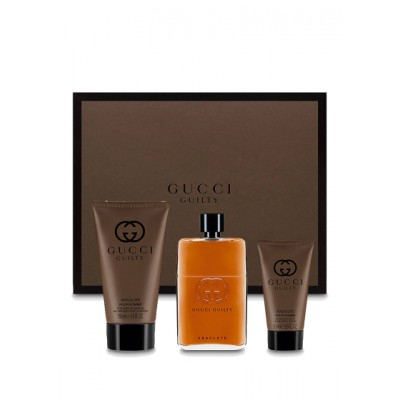 Gucci Guilty Absolute EDP & After Shave Balm & Shower Gel 90 ml + 50 ml + 150 ml