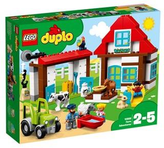 LEGO DUPLO 10869 LEGO® DUPLO® Bondgårdsäventyr