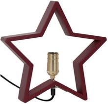 Star Trading Stjärna på fot Lysekil 28 cm Röd
