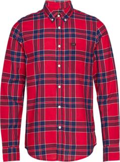 Lee Button Down Skjorte Casual Rød Lee Jeans
