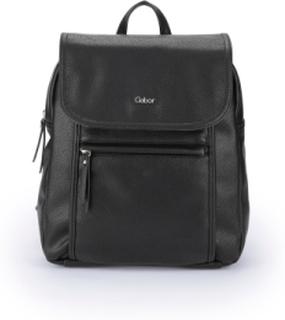 Trendig ryggsäck för kvinnor från Gabor Bags svart