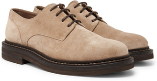 Suede Derby Shoes - Unknown