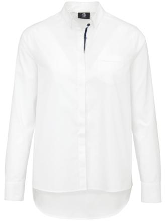 Skjorte skjult knapstolpe Fra Bogner hvid - Peter Hahn