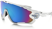 Oakley JawBreaker Polished White/Prizm Snow Sportglasögon