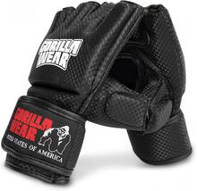 Gorilla Wear Manton MMA Hansker (med tommel) Sort/hvit