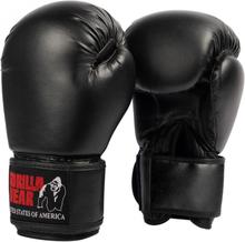Gorilla Wear Mosby Boxing Gloves - Sort boksehanske