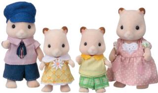 Sylvanian Families ® Familie - Hamster Familie Goldbacke