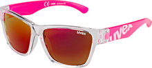 UVEX Sportstyle 508 Sportglasses Kids clear pink/red 2020 Barnglasögon