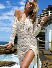 Knitted Hollow out Beach Dress