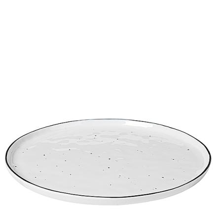 Broste Copenhagen Salt m/prikker Tallerken Ø 28 cm