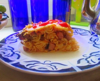 recipe: zapiekanka makaronowa z mięsem mielonym i pieczarkami [27]