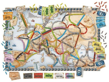 - Ticket to Ride Europe