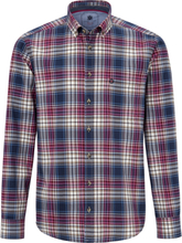 Skjorta button down-krage från Hatico blå
