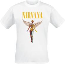 Nirvana - In Utero -T-skjorte - hvit