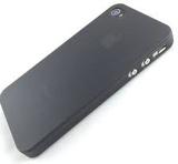 Frostat plast skal till iphone 4/4 - svart