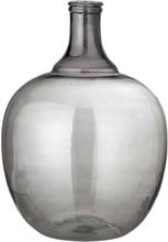 BLOOMINGVILLE vase - sort glas, rund (Ø35)