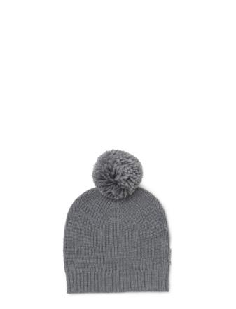 Knit Hat Pom Pom