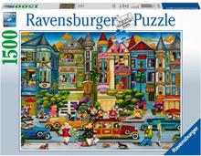 Ravensburger Pussel - Färgglada Kvinnor 1500 bitar