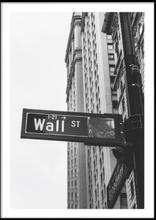 WALL STREET No 4 - Poster 50x70 cm