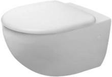 Duravit Architec vegghengt toalett m/skjult montering & wondergliss, hvit