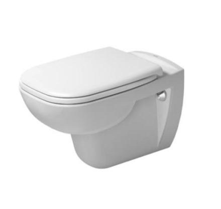 Duravit D-Code vegghengt toalett, hvit