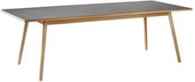 Poul M. Volther 8 pers. spisebord - C35C - Bøg/sort linoleum