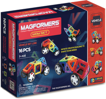 Magformers byggesæt - Wow - 16 dele