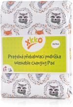 XKKO - wasserdichte & waschbare Wickelunterlage (70x50cm) - Fuchs & Waschbär