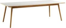 Poul M. Volther 8 pers. spisebord - C35C - Eg/grå linoleum