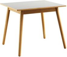 Poul M. Volther 4 pers. spisebord - C35A - Eg/grå linoleum