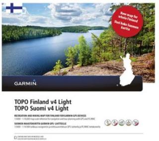 TOPO Finland v4 Light Garmin microSD?-/SD?-kort