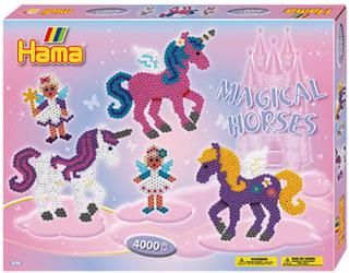 Hama Midi perlesæt - Magisk hest - 4.000 stk.