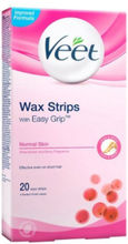 Veet Cold Wax Strips Normal 20st