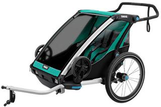Thule cykelanhænger - Chariot Lite 2 - Grøn/sort