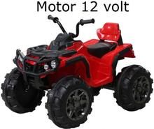 Jamara Elfyrhjuling ATV Barn Protector Röd 12 volt