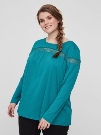 JUNAROSE Long Sleeved Blouse Women Green
