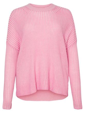 JUNAROSE Knitted Pullover Women Red