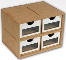 Hobbyzone Module OMs01a 4x Drawers 4 skuffer med vinduer - 20 cm