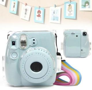 Fujifilm Instax Mini 8/8 + 9 Film Instant Camera Clear Hard Cas